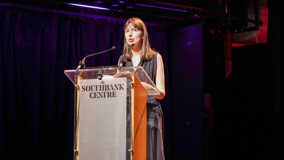 Sally Rooney discusses 'Beautiful World, Where Are You' with Emma Dabiri at the Southbank Centre.